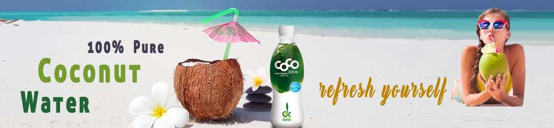healthy drinks coconut water