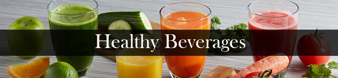 healthy beverages list