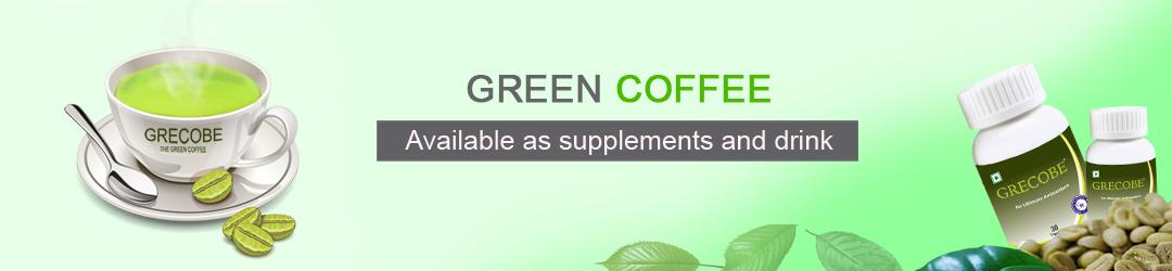 Green coffee Available as supplements and drink