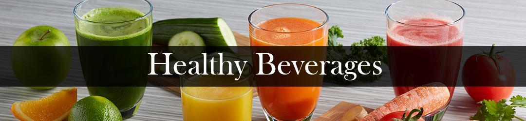 healthy beverages list
